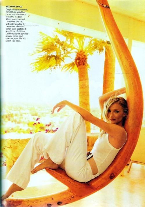 Cameron Diaz, Vogue USJune 2009. Изображение № 5.