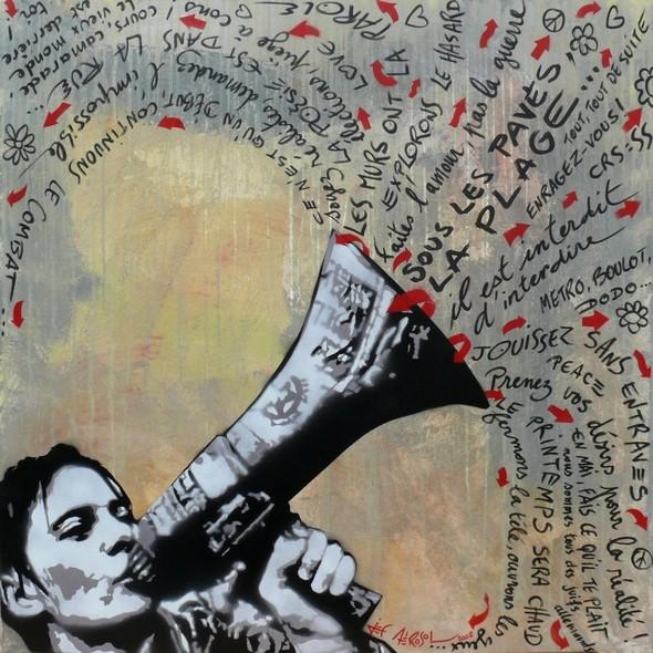 Граффити от легенды стрит-арта Jef Aerosol. Изображение № 7.