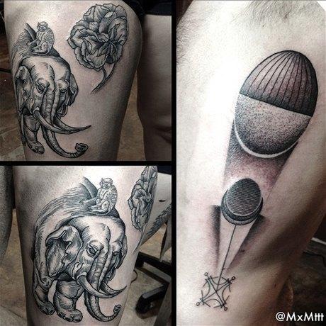 10 любимых татуировщиков Дмитрия Зеленцова. Изображение № 9.