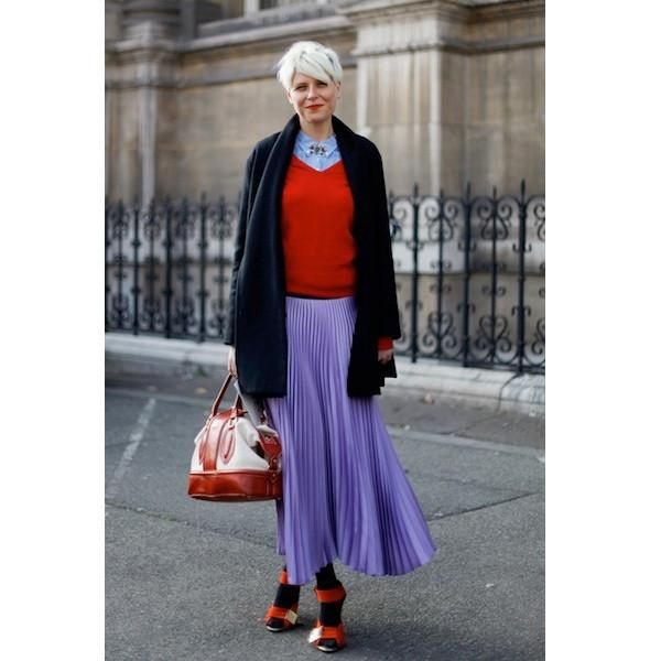 Изображение 176. На полях: 10 тенденций уличного стиля с прошедших недель моды.. Изображение № 176.