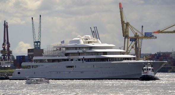 Самая большая в мире яхта. Изображение № 4.