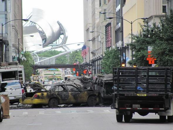 Съемки Трансформеров 3 в Чикаго. Изображение № 17.