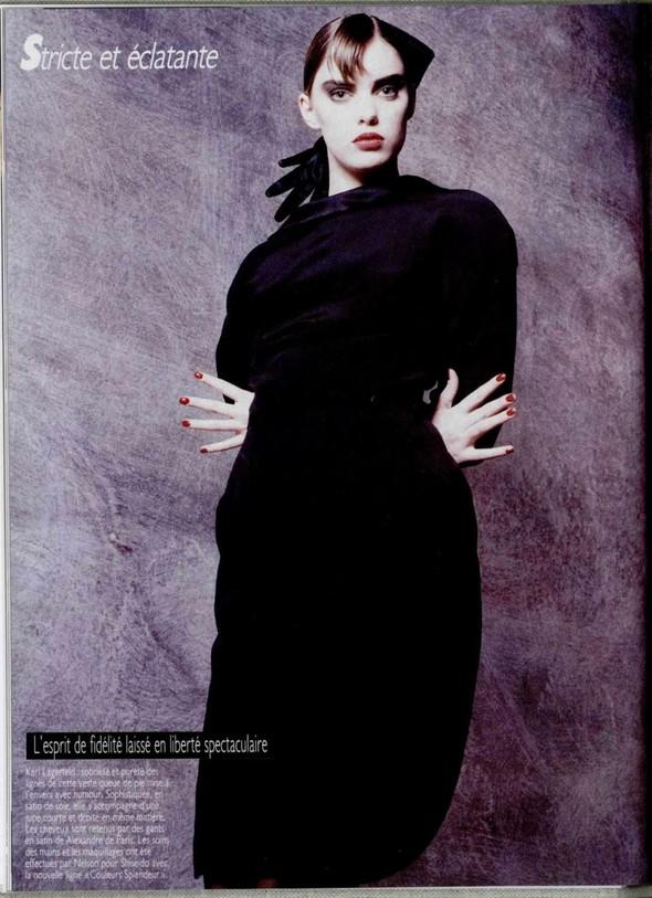 Архивная съёмка: Беате Ханзен для L'Officiel, 1986. Изображение № 3.