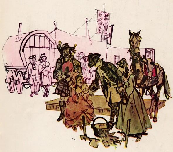 Американские иллюстраторы 40–60гг. ЧАСТЬ 1. Изображение № 50.