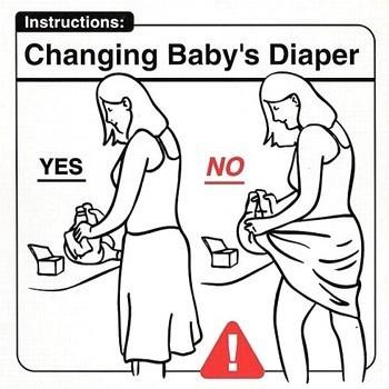 Инструкция поэксплуатации младенца. Изображение № 7.