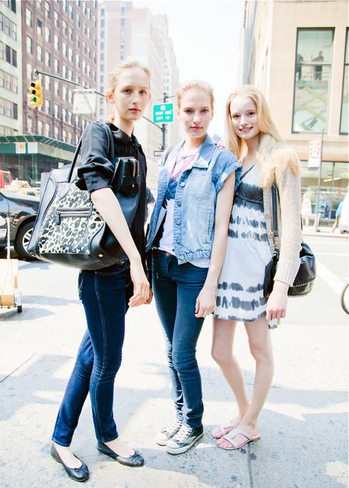 City Looks: Стиль моделей в блоге Bonae L'Amour. Изображение № 12.