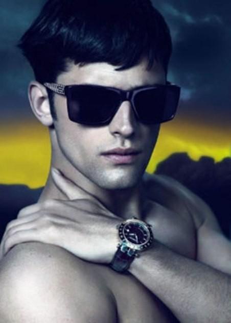 Кампания: Versace Eyewear FW 11. Изображение № 5.
