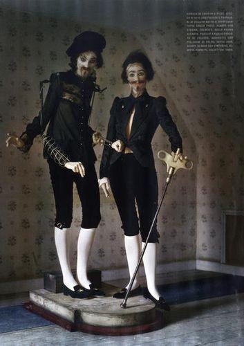 Съёмка: Тим Уокер для итальянского Vogue. Изображение № 7.