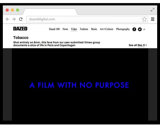 5 вкладок: лучший сайт о кино и путешествие по лесу. Изображение № 3.