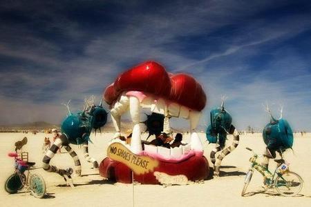 """Фестиваль """"Burning Man! """" вНеваде. Изображение № 15."""