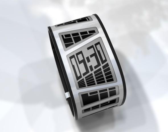Концепт часов Tokyoflash E-Clock. Изображение № 1.