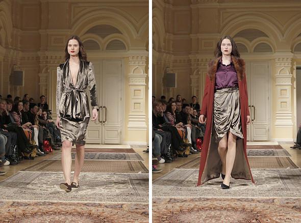 Изображение 13. A'la Russe FW 2011: пальто в пол и широкие брюки.. Изображение № 13.