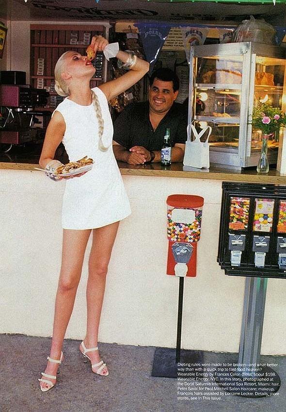 """Diary ofa Spa"". Vogue'94. Изображение № 6."