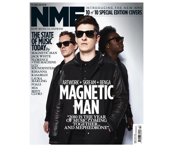 Новый дизайн и десять обложек NME. Изображение № 12.