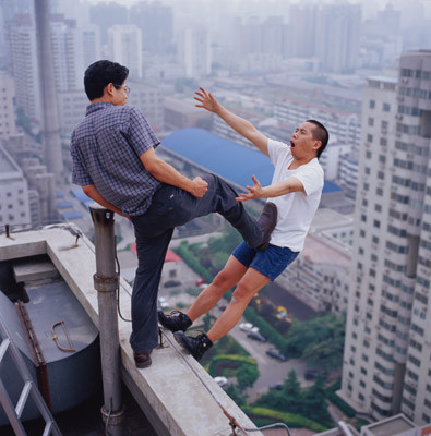Летающие и падающие люди Ли Вея. Изображение № 3.