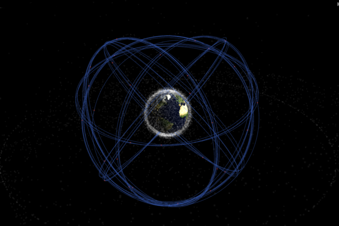 Спутники GPS. Изображение № 1.