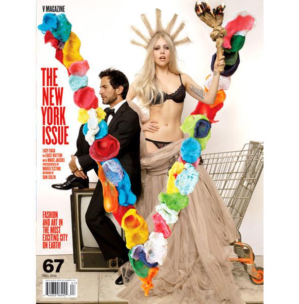Леди Гага и Марк Джейкобс появятся на обложках V. Изображение № 3.
