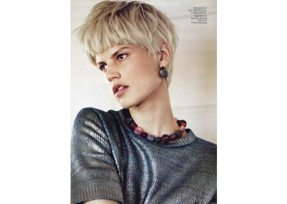 Саския де Брау для китайского Vogue, октябрь 2011. Изображение № 133.
