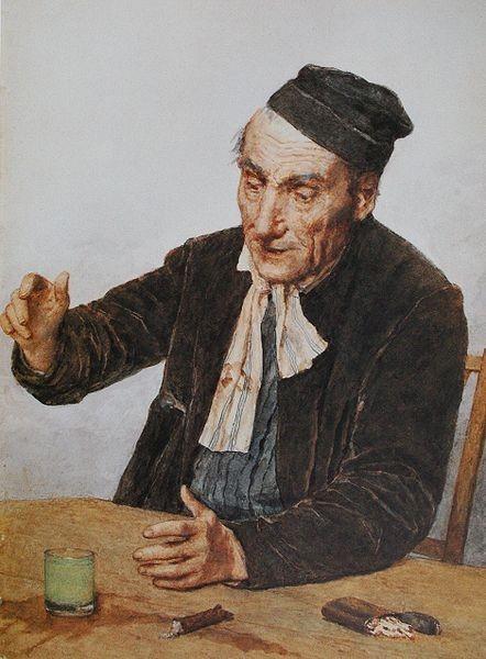 Аьбер Анкер, Любитель абсента. Изображение № 17.
