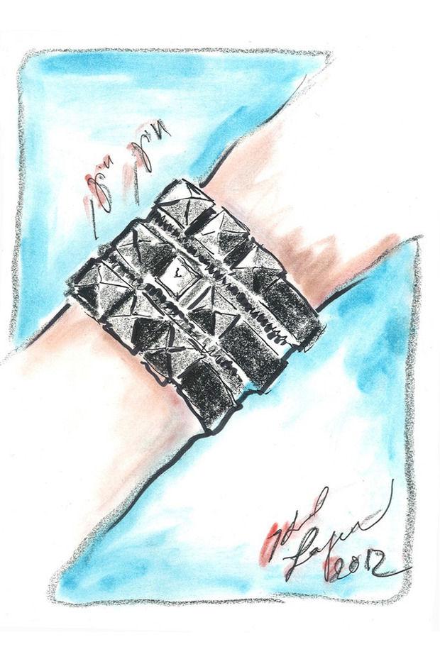Карл Лагерфельд создал коллекцию часов. Изображение № 1.