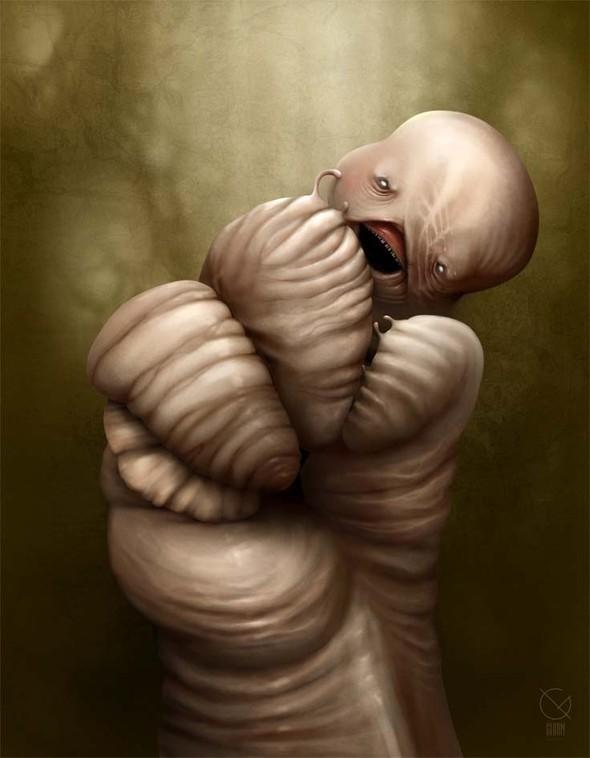 Gloom, молодой российский художник-иллюстратор. Изображение № 8.