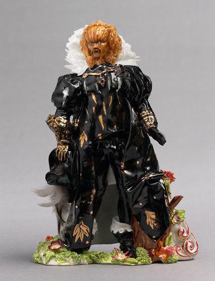Фарфоровые статуэтки от Shary Boyle. Изображение № 8.