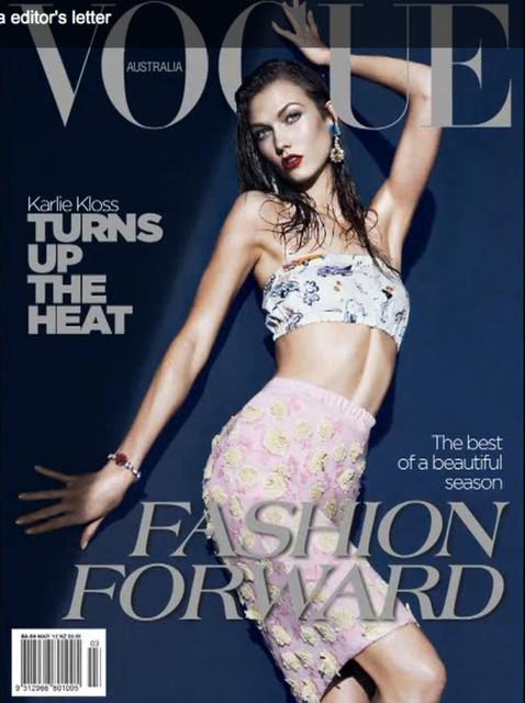 Обложки Vogue: Бразилия и Австралия. Изображение № 2.