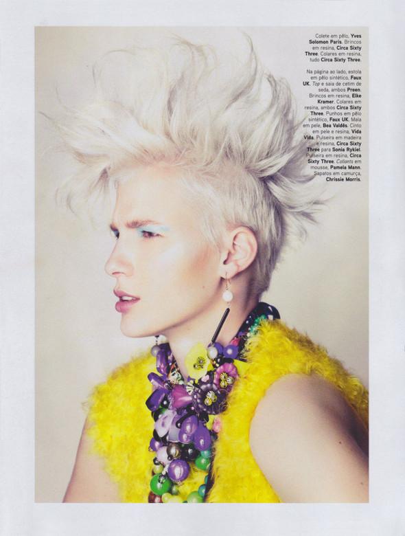Съёмка: Сара Уэйл для португальского Vogue. Изображение № 2.