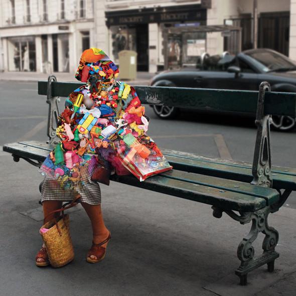 Фотографические эксперименты на улицах Парижа Начо Ормачеа. Изображение № 4.