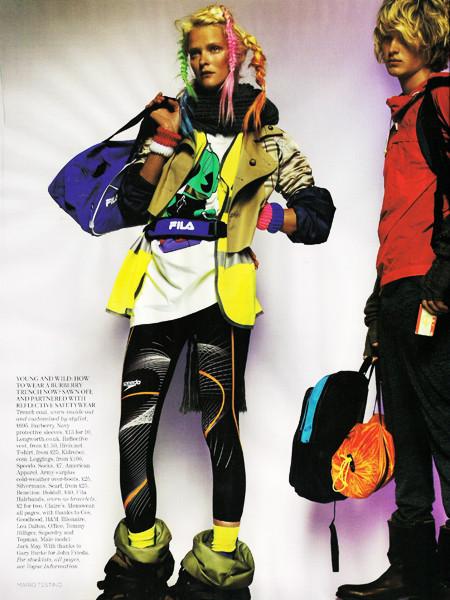 United Colors ofTestino. Vogue UK(November 2009). Изображение № 10.