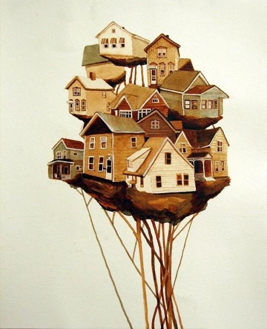 Города сточки зрения иллюстратора ЭмиКэйси. Изображение № 11.