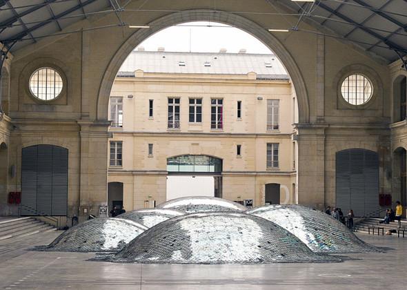 Металлические дюны Wastelandscape в парижском CENTQUATRE. Изображение № 2.