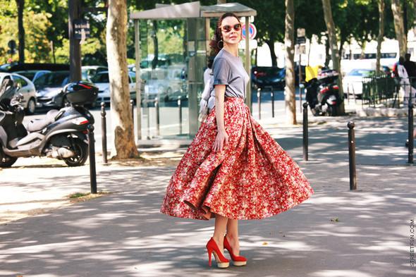 Уличный стиль на Неделе высокой моды в Париже. Изображение № 87.