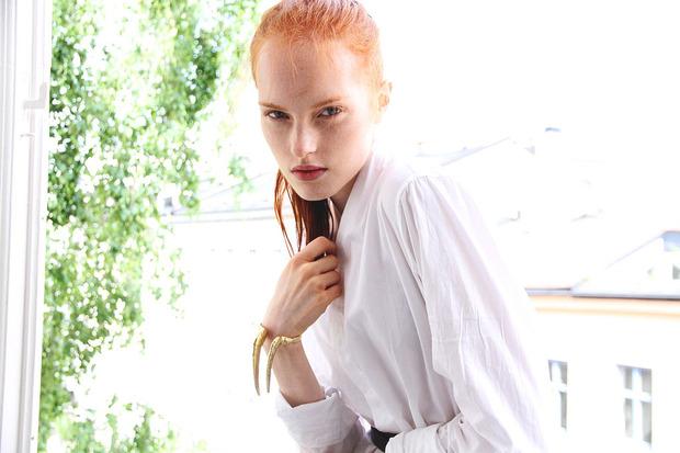 Новые лица: Каролине Бьёрнелюкке, модель. Изображение № 8.