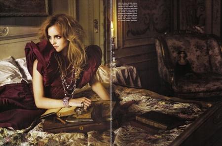 Эмма Уотсон (итальянский Vogue, сентябрь 2008). Изображение № 8.
