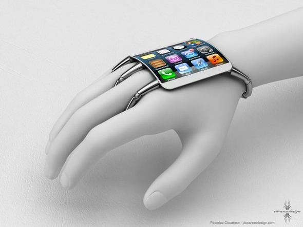 Самый необычный концепт iPhone 5. Изображение № 1.