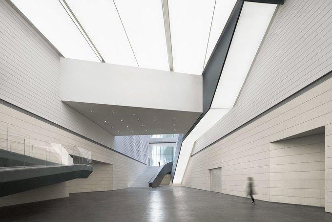 Архитектура дня: музей в Китае сбелым «слоёным» фасадом. Изображение № 9.