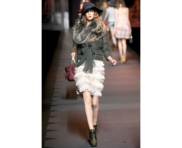 Показ Dior FW 2011. Изображение № 26.