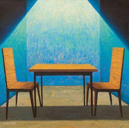 Куаныш Базаргалиев. Столы истулья. Изображение № 14.