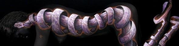 Боди-арт работы от Крейга Трейси. Изображение № 12.