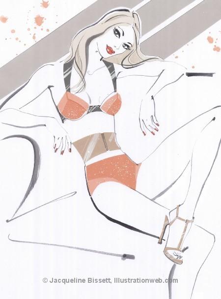 Иллюстратор Жаклин Биссет. Изображение № 50.