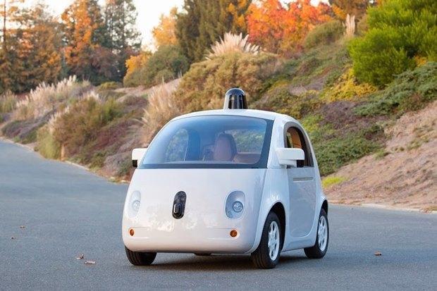 Прототип машины на автопилоте Google. Изображение № 1.