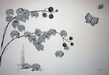 Вырезанные избумаги картины – Hina Aoyama. Изображение № 7.