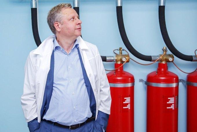 Президент компании «Ростелеком» Сергей Калугин. Изображение № 1.