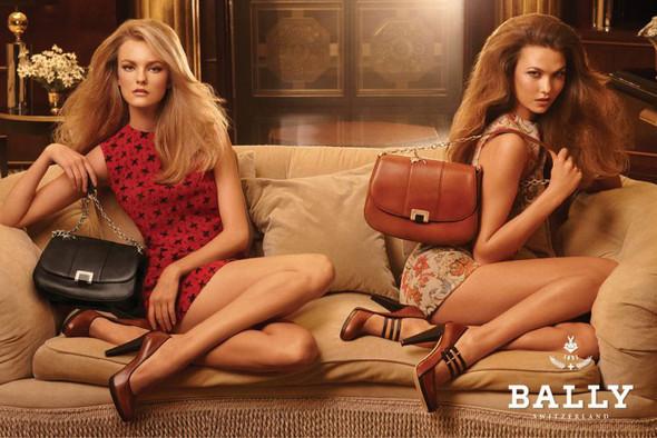 Кампания: Карли Клосс и Каролина Трентини для Bally. Изображение № 4.