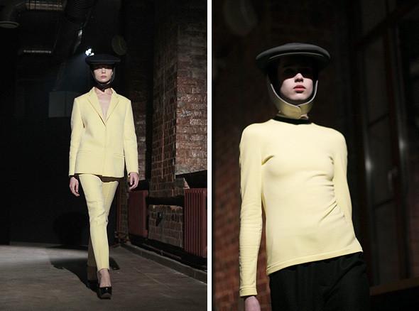 Изображение 2. Bezous FW 2011: брюки со стрелками и платья-футляры.. Изображение № 2.