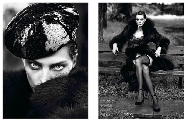 Новые съемки Dazed & Confused, Vogue, i-D и W Magazine. Изображение № 29.