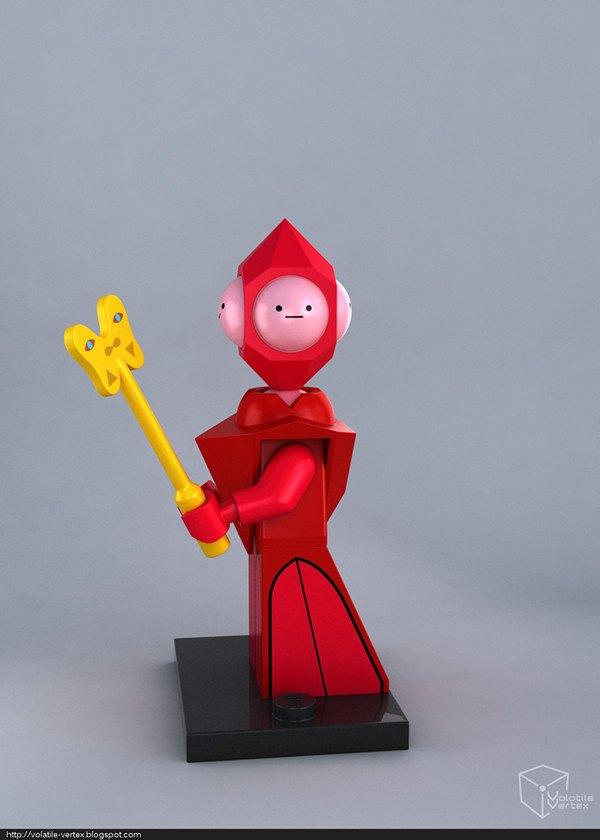 Концепт: персонажи Adventure Time в LEGO. Изображение № 17.