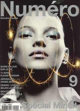 Кейт Мосс, наобложках главных модных журналов планеты. Изображение № 30.