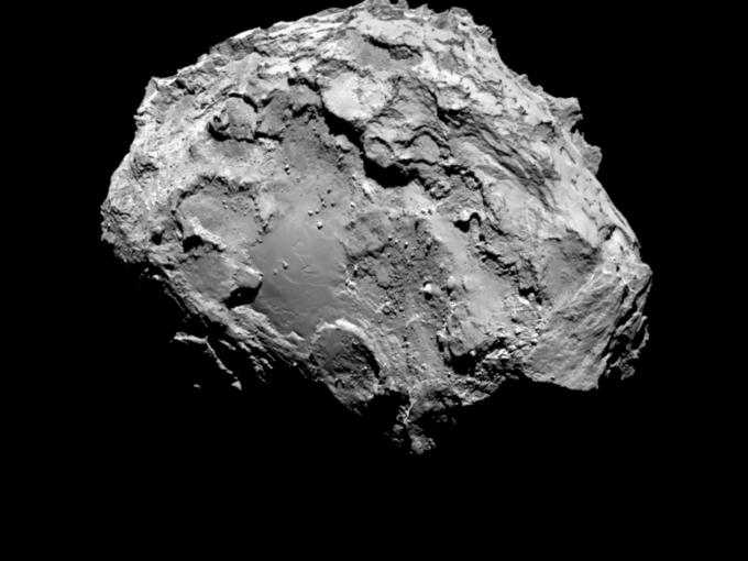 Фото дня: первые снимки кометы с близкого расстояния. Изображение № 2.